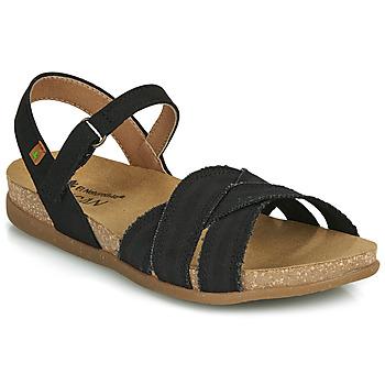 Chaussures Femme Sandales et Nu-pieds El Naturalista ZUMAIA Noir