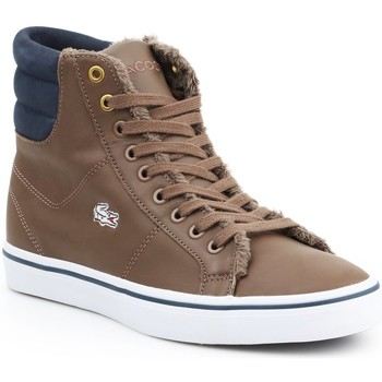 Chaussures Femme Baskets montantes Lacoste Marcel MID PWT DK 7-26SPW4118DK4 brązowy, granatowy