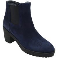 Chaussures Femme Bottines Angela Calzature ANSANGC182blu blu