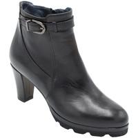 Chaussures Femme Boots Angela Calzature ANSANGC285nr nero