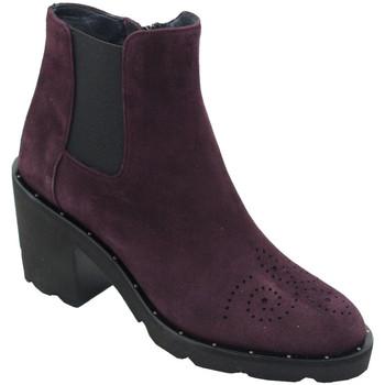 Chaussures Femme Bottines Angela Calzature ANSANGC290bx blu
