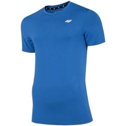 Vêtements Homme T-shirts manches courtes 4F TSMF002 Bleu