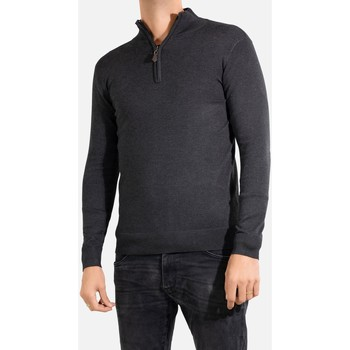Vêtements Homme Pulls Kebello Pull col camioneur Taille : H Anthra M Anthra