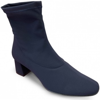 Chaussures Femme Bottines Brenda Zaro Bottine Talon Stretch Marine bleu
