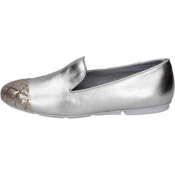 Chaussures Femme Mocassins Hogan BK669 Platine