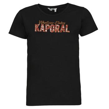 Vêtements Femme T-shirts manches courtes Kaporal PENIN Noir