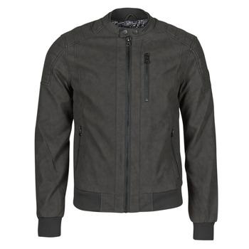 Vêtements Homme Vestes en cuir / synthétiques Kaporal KYRO Noir