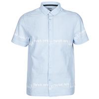 Vêtements Homme Chemises manches courtes Kaporal STEVE Bleu