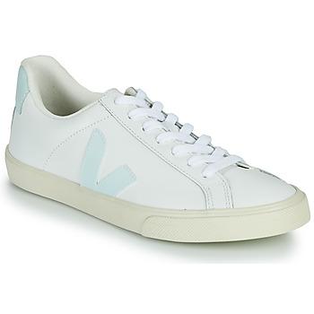 Chaussures Femme Baskets basses Veja ESPLAR LOGO Blanc / Bleu