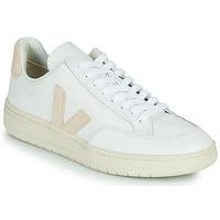 Chaussures Baskets basses Veja V-12 Blanc / Beige