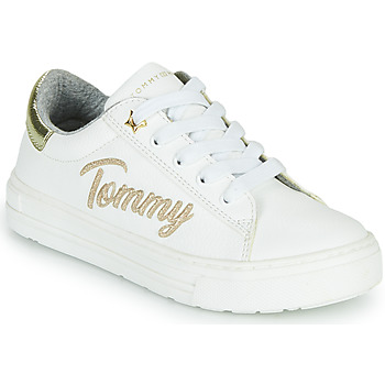 Chaussures Fille Baskets basses Tommy Hilfiger SOFI Blanc