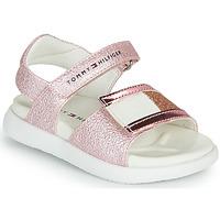 Chaussures Fille Sandales et Nu-pieds Tommy Hilfiger EMIA Rose