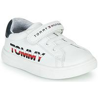 Chaussures Enfant Baskets basses Tommy Hilfiger MARILO Blanc