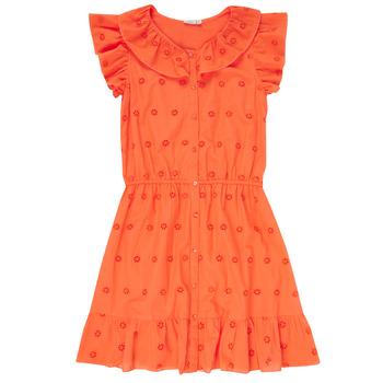 Vêtements Fille Robes courtes Name it NKFDORITA Corail