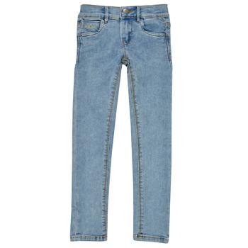 Vêtements Fille Jeans slim Name it NKFPOLLY Bleu