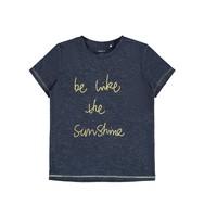 Vêtements Fille T-shirts manches courtes Name it NKFDEVIRA Marine