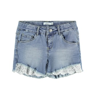 Vêtements Fille Shorts / Bermudas Name it NKFSALLI Bleu