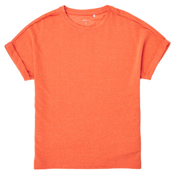 Vêtements Fille T-shirts manches courtes Name it NKFKYRRA Corail