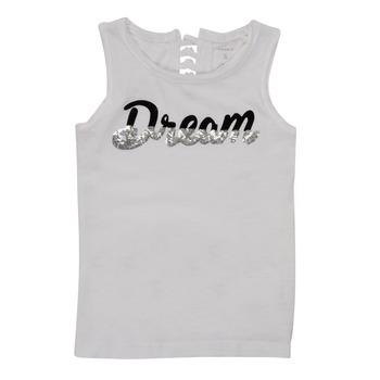 Vêtements Fille Débardeurs / T-shirts sans manche Name it NKFFASAI Blanc