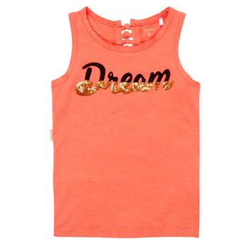 Vêtements Fille Débardeurs / T-shirts sans manche Name it NKFFASAI Corail