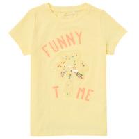 Vêtements Fille T-shirts manches courtes Name it NMFFEFA Jaune