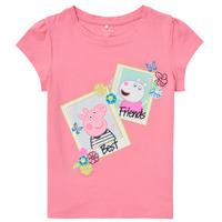 Vêtements Fille T-shirts manches courtes Name it PEPPAPIG Rose