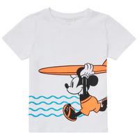 Vêtements Garçon T-shirts manches courtes Name it NMMMICKEY Blanc