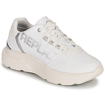 Chaussures Femme Baskets basses Replay MAYFAIR Blanc