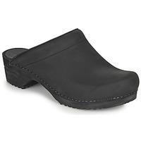 Chaussures Femme Sabots Sanita CHRISSY Noir