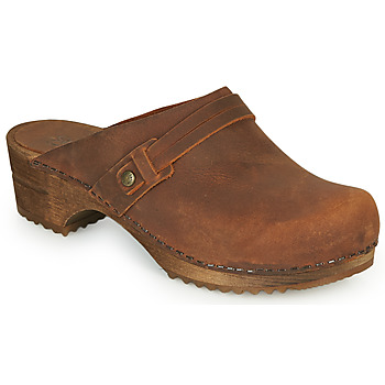 Chaussures Femme Sabots Sanita URSANA Marron