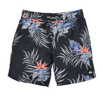 Vêtements Garçon Maillots / Shorts de bain Quiksilver PARADISE EXPRESS 15 Noir