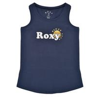 Vêtements Fille Débardeurs / T-shirts sans manche Roxy THERE IS LIFE FOIL Marine