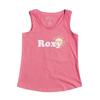 Vêtements Fille Débardeurs / T-shirts sans manche Roxy THERE IS LIFE FOIL Rose