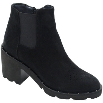 Chaussures Femme Bottines Angela Calzature ANSANGC290nr nero