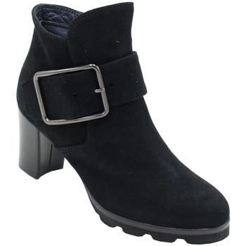 Chaussures Femme Bottines Angela Calzature ANSANGC779nr nero