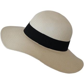 Accessoires textile Femme Chapeaux Chapeau-Tendance Capeline panama SETFI TS/M Blanc