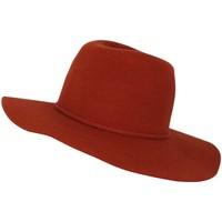 Accessoires textile Femme Chapeaux Chapeau-Tendance Chapeau capeline laine MILIE T58 Orange