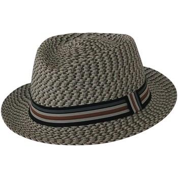 Accessoires textile Chapeaux Chapeau-Tendance Chapeau trilby MELANE TS/M Gris
