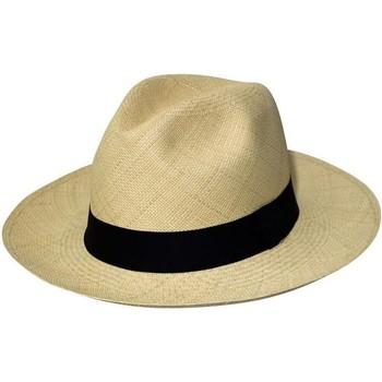Accessoires textile Chapeaux Chapeau-Tendance Panama véritable EQUATEUR T56 Blanc ivoire