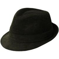 Accessoires textile Homme Chapeaux Chapeau-Tendance Chapeau trilby VELOURIS T58 Vert kaki