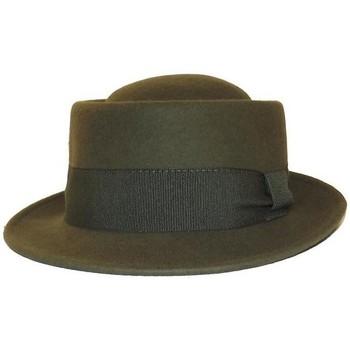 Accessoires textile Chapeaux Chapeau-Tendance Chapeau laine PLAZA T57 Vert