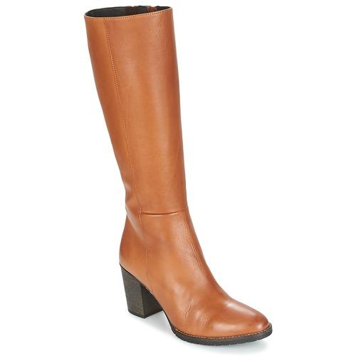Chaussures Femme Bottes ville Betty London ISME Camel