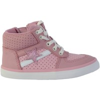 Chaussures Fille Baskets montantes Clarks Basket Montante Cuir  City Flake Rose