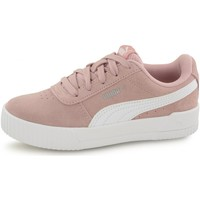 Chaussures Fille Baskets basses Puma Baskets Carina Leather rose
