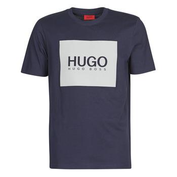 Vêtements Homme T-shirts manches courtes HUGO DOLIVE Marine