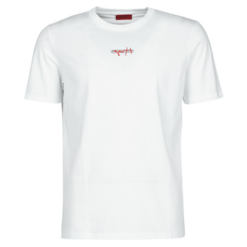 Vêtements Homme T-shirts manches courtes BOSS DURNED Blanc