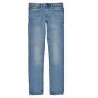 Vêtements Garçon Jeans skinny Teddy Smith FLASH Bleu