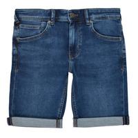 Vêtements Garçon Shorts / Bermudas Teddy Smith SCOTTY 3 Bleu foncé