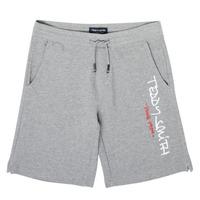 Vêtements Garçon Shorts / Bermudas Teddy Smith S-MICKAEL Gris