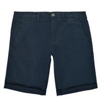 Vêtements Garçon Shorts / Bermudas Teddy Smith SHORT CHINO Marine